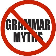 grammar myths